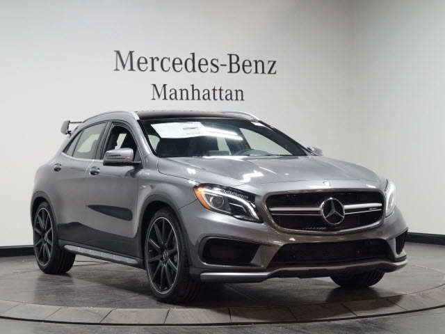 new 2017 mercedes benz gla amg gla 45 suv suv in new york 170601 mercedes benz manhattan. Black Bedroom Furniture Sets. Home Design Ideas